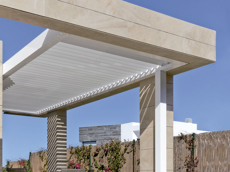 INSTALLING PERGOLA WITHOUT COLUMNS